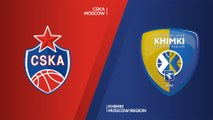 CSKA Moscow - Khimki Moscow region Highlights | Turkish Airlines EuroLeague, RS Round 3
