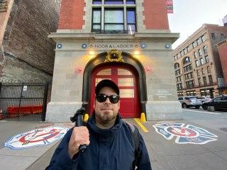 Visitamos el cuartel de Los Ghostbusters