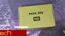 Tata sky new HD set top box unboxing ,  new Tata sky HD box ,  Tata sky unboxing