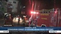 Ruang Genset RSUD Dr Soetomo Surabaya Terbakar