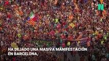 Cuarto día de protestas en Cataluña