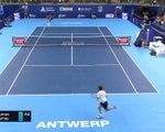 Anvers - Murray domine Cuevas et rejoint les quarts