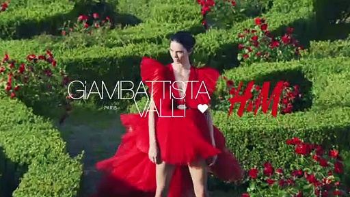 Giambattista Valli × H&M campaign film with Kendall Jenner