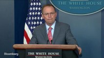 Mulvaney Tells Reporters 'Get Over It' After Linking Ukraine Aid to 2016 Probe