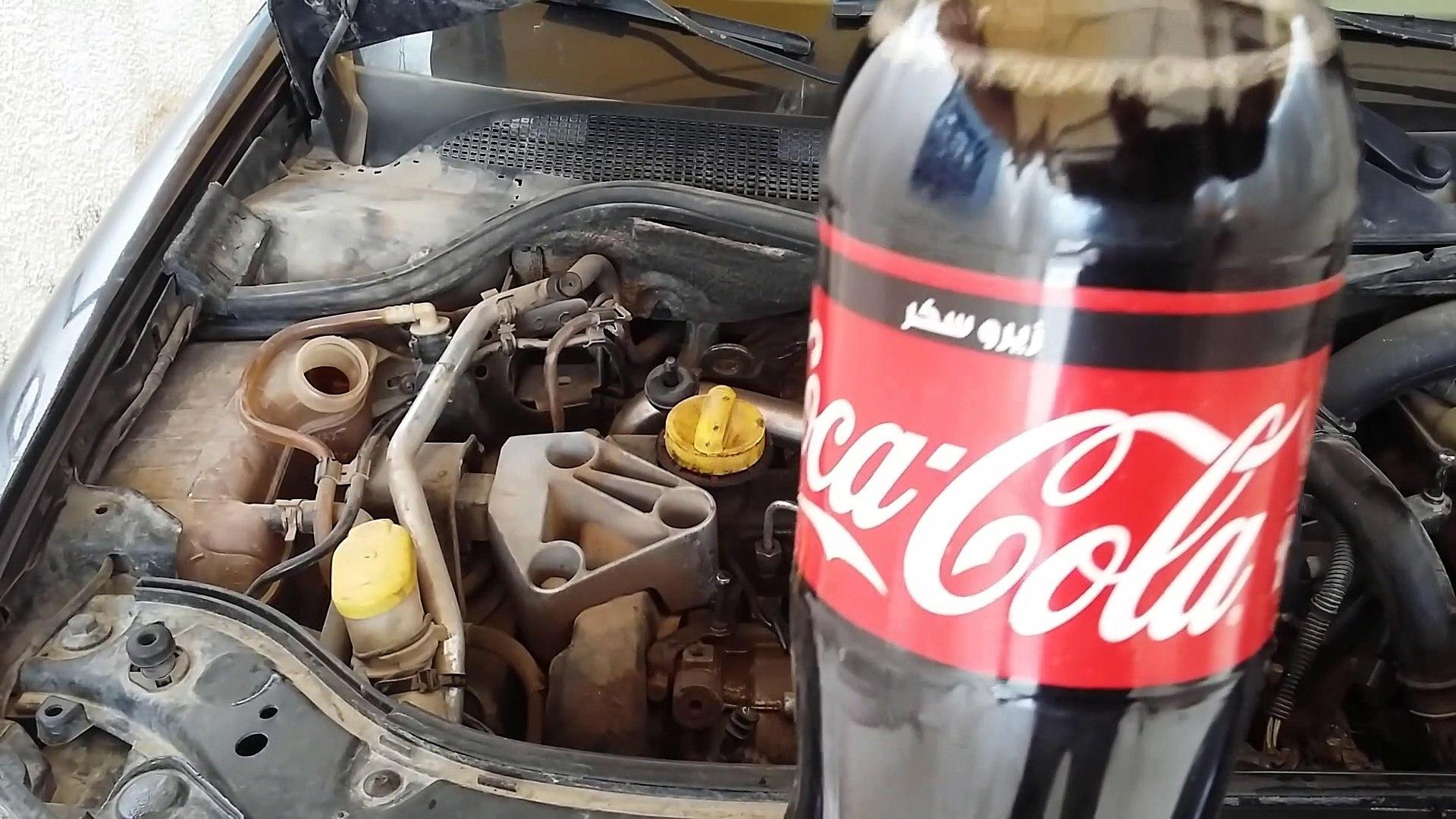 كوكا كولا في المبرد