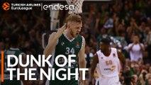 Endesa Dunk of the Night:  Jock Landale, Zalgiris Kaunas