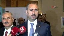 """Adalet Bakanı Gül: (Yaptırım Sorusu) """"Zamanlama itibari ile asla hukuki bir dayanağı olmadığını..."""