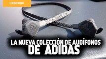 Adidas presenta su innovadora lnea de audífonos