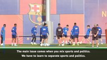 Players shouldn't be affected by Clasico turmoil, says sports psychologist
