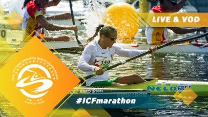 2019 ICF Canoe Marathon World Championships Shaoxing China / Junior K2wm, C2m, C1w - U23 Pt1