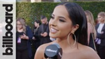 Becky G Discusses Her Evolution Award Medley & Performance With Myke Towers | Latin AMAs 2019