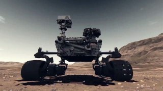 NASA Rover (Intentionally) Made A Mess On Mars