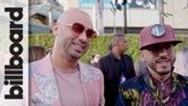 Wisin Y Yandel Talk Fashion & New Song 'Chica Bombastic'   Latin AMAs 2019