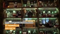 Restaurantes Instagramáveis: O que acha de um drinque na farmácia?