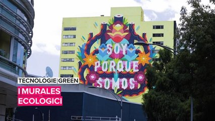 Tecnologie green: i murales ecologici