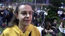 Nueva noche de barricadas en Barcelona, en vísperas de huelga independentista
