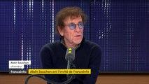 """""""Sur scène, on ne se sent plus"""", confie Alain Souchon, que le trac n'a jamais quitté"""