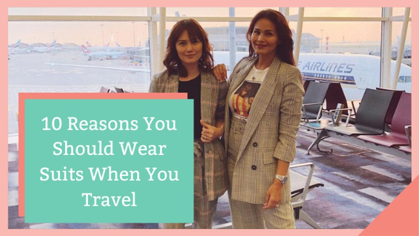 4 Reasons You Should Wear Suits When You Travel