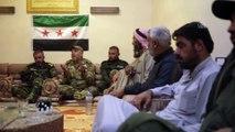 Teröristlerden kurtarılan Tel Abyadlılar, kent yönetimini ellerine alacak - TEL ABYAD