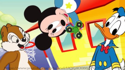Cartoon for Kid | Kid Movies | Donald Duck & Chip and Dale: challenges eating lollipop fidget spinner
