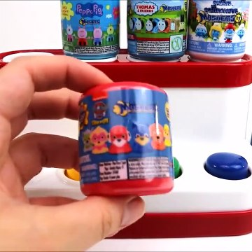 Paw Patrol And PJ Masks Pop Up Toy Mashems And The Finger Family Toys For Kids