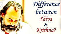 Acharya Prashant : Is there a difference between Shiva and Krishna?