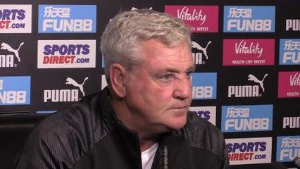 Chelsea v Newcastle: Steve Bruce press conference