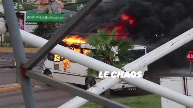 Un cartel sème le chaos au Mexique et libère libérer le fils d'El Chapo
