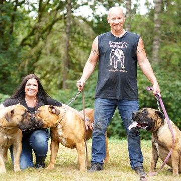Barbarian Boerboels – The 200lb 'Dogs Of War' | BIG DOGZ
