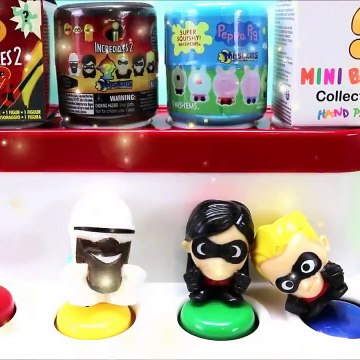 Disney Pop Up Toys Surprises Incredibles 2 Mashems Learn Colors Numbers Toys For Kids