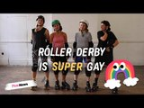 Roller Derby: Meet London's queer and non-binary players
