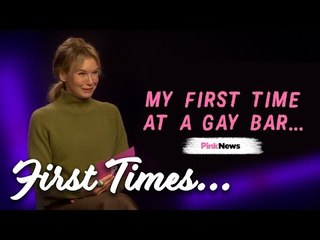 Renée Zellweger reveals her first time at a gay bar, Pride and why she's a LGBT ally | First Times