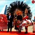 Dutch royals King Willen-Alexander and Queen Máxima visit Kerala