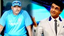 Ganguly hilarious remarks on Ravi Shastri