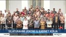 Jokowi-JK Foto Bareng Menteri Kabinet Kerja di Istana