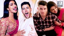 Priyanka And Nick Celebrate Their First Karva Chauth In Los Angeles