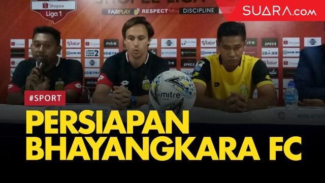 Persiapan Bhayangkara FC jelang Hadapi Tira-Persikabo