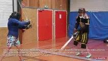 Chamonix : ils battent l'épée comme au Moyen-âge