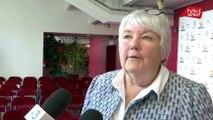 """ADF: """"Je savais qu'il y avait une certaine ambiance ici. Et bien je n'ai pas été déçue » déclare Jacqueline Gourault"""