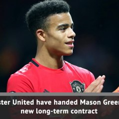 Man United youngster Greenwood signs new long-term deal