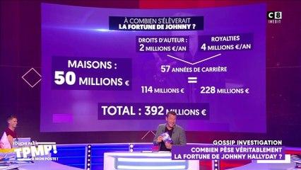 La fortune de Johnny Hallyday s'élèverait à 392 millions d'euros