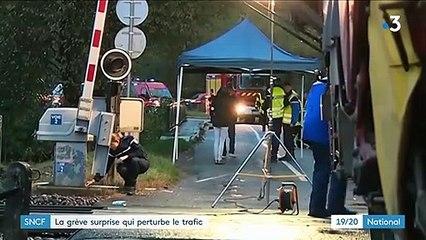 SNCF : une grève surprise perturbe le trafic