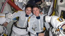 NASA Astronauts Complete First-Ever All-Female Space Walk