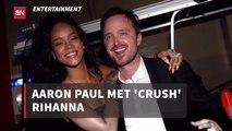 Aaron Paul Has A Crush