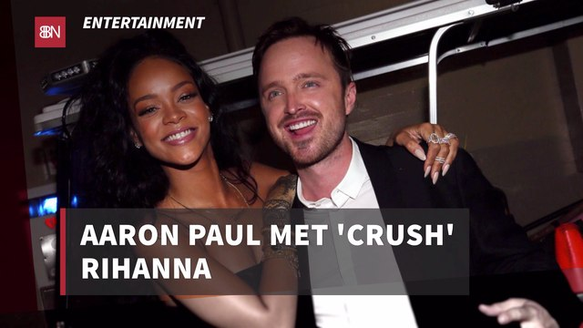 Aaron Paul Has A Crush