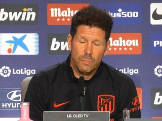 "Atlético - Simeone : ""Jouer ce Clasico, c'est secondaire"""