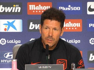 Atlético - Simeone pas inquiet pour ses attaquants