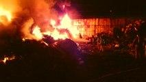 폐기물 처리 업체에서 불...다친 사람 없어 / YTN