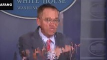 Mick Mulvaney's bombshell briefing on Ukraine, in 2 minutes