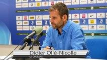 """Didier Ollé-Nicolle (US Orléans) : """"Un bon match, un bon résultat"""""""